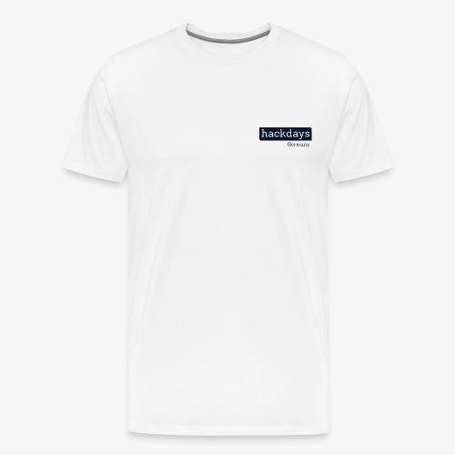 Hackdays Germany - Blue Logo - Men's Premium T-Shirt