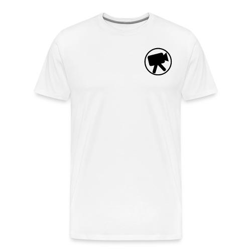 logo zwart videotijd - Mannen Premium T-shirt
