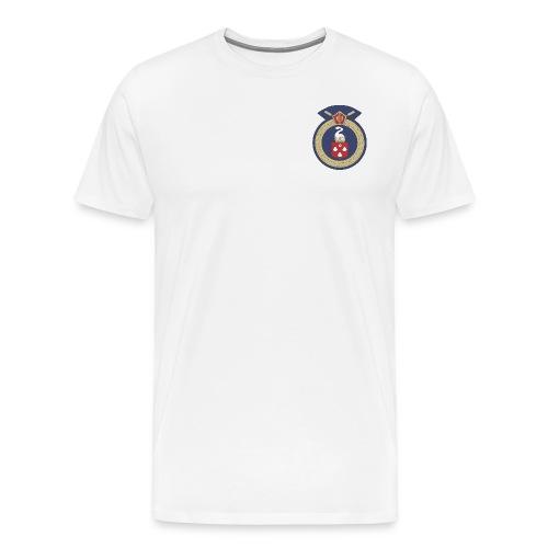 13 Eastleigh Badge White - Men's Premium T-Shirt