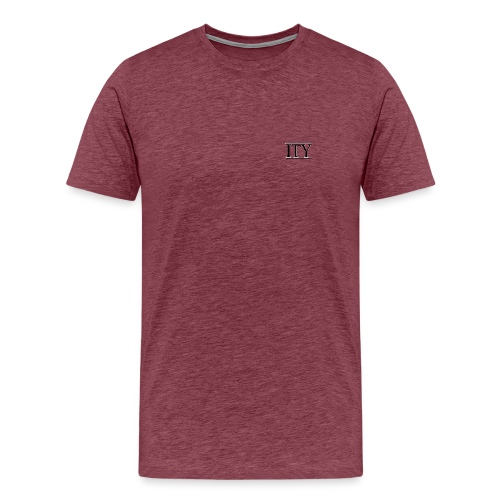 ITY Logo Vector Recovered png - Men's Premium T-Shirt
