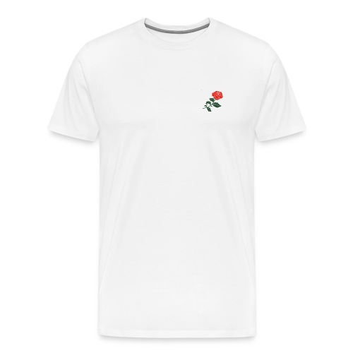 Rose anti social - Mannen Premium T-shirt