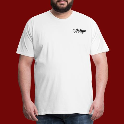 Wottyz Black Edition - Men's Premium T-Shirt