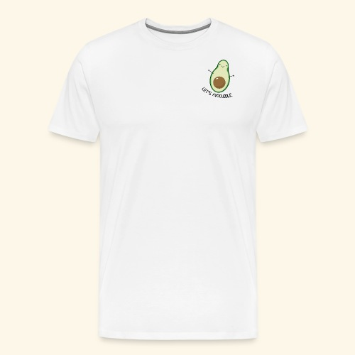 LET'S AVOCUDDLE - Herre premium T-shirt