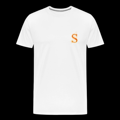 S FOR Sonnit Fire Charge - Men's Premium T-Shirt