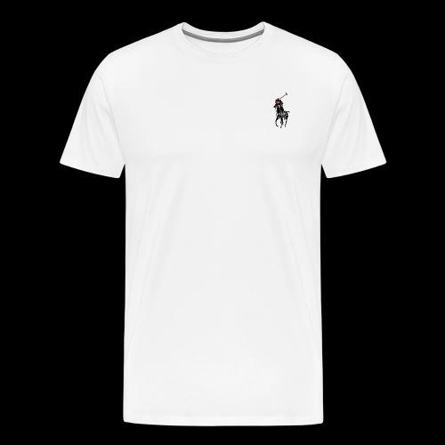 Popo Merch #3 POPO LAUREN - Premium-T-shirt herr
