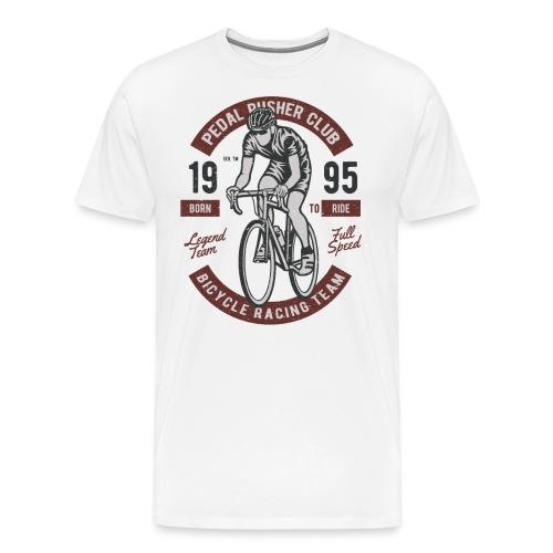 Vintage Rennrad - Männer Premium T-Shirt