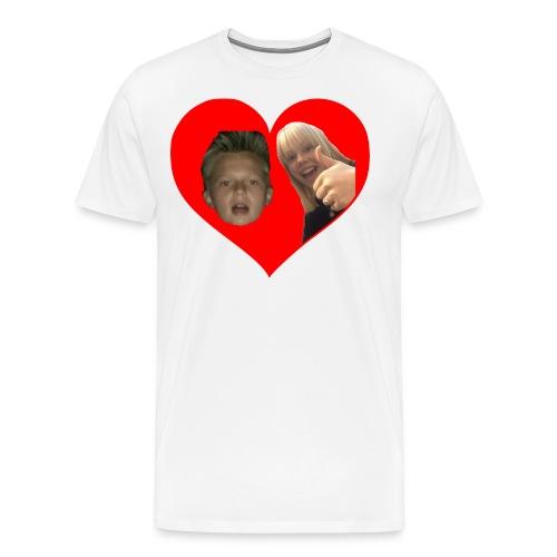 Sebber in love - Herre premium T-shirt