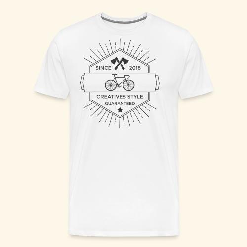 Vintage Bike - Maglietta Premium da uomo