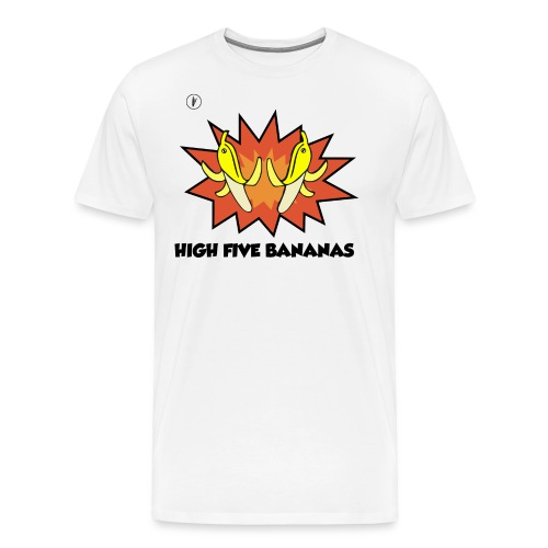HIVE FIVE BANANAS - T-shirt Premium Homme