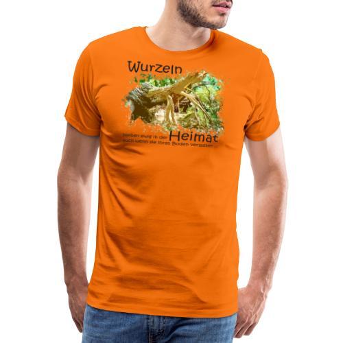 Wurzeln bleiben - Männer Premium T-Shirt