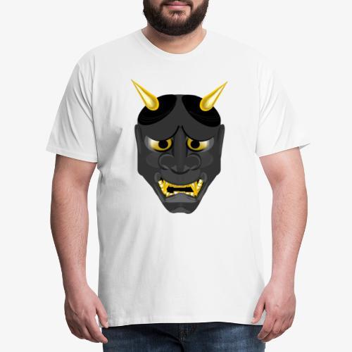 Demon Mask Black - Men's Premium T-Shirt
