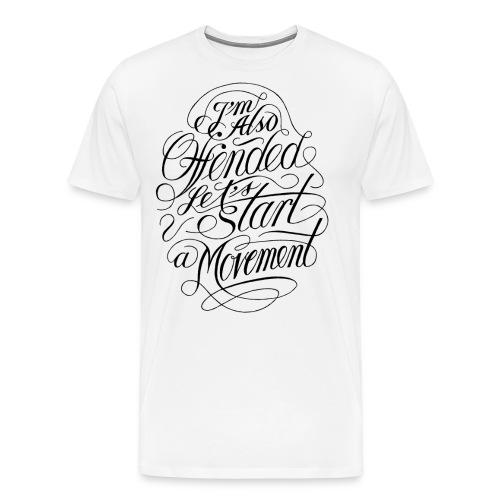Offended (black) - Herre premium T-shirt