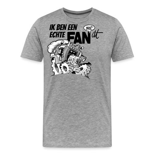 0922 Ik ben een FAN met DT - Mannen Premium T-shirt