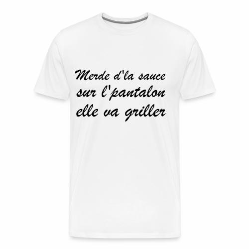 Pantalon | Punchline - Placements de Produits - T-shirt Premium Homme
