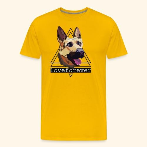 SHEPHERD LOVE FOREVER - Camiseta premium hombre