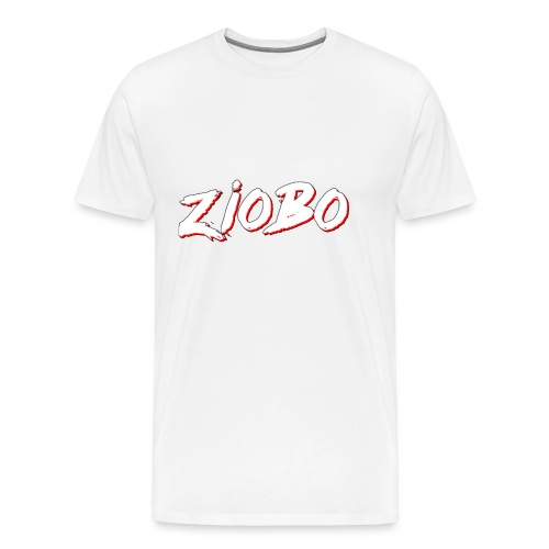white ziobo - Men's Premium T-Shirt