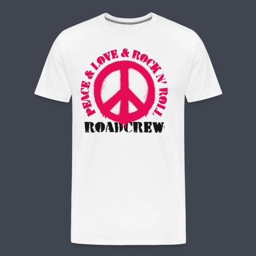 peace-love-rocknroll-rc - Männer Premium T-Shirt