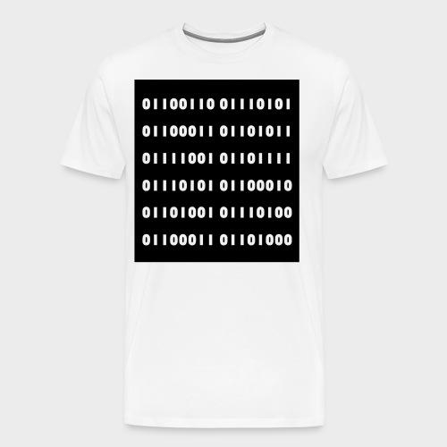 binär - Männer Premium T-Shirt