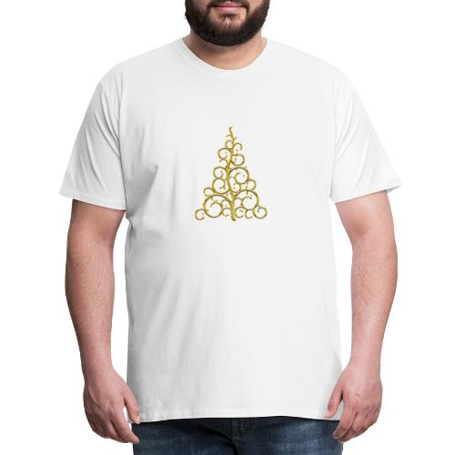 sapin chic gold - T-shirt Premium Homme