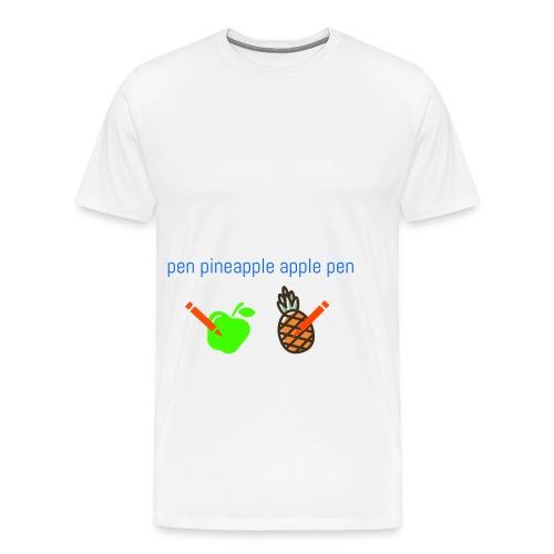 sen ananas - Miesten premium t-paita
