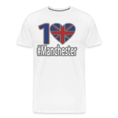 One Love Manchester - Men's Premium T-Shirt