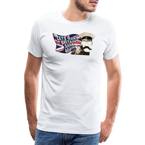 britain sane again - Men's Premium T-Shirt