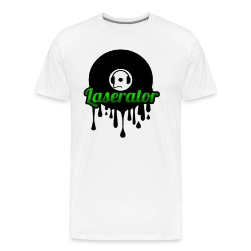 Laserator Logo - Männer Premium T-Shirt
