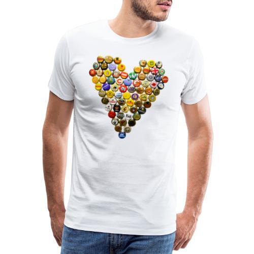 LOVERZ GONNA LOVE bière - T-shirt Premium Homme