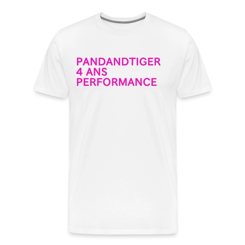 Pandandtiger 4 ans performance - T-shirt Premium Homme