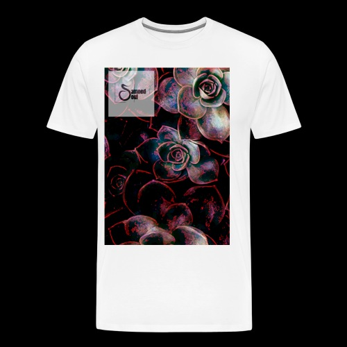 Damned soul bunch of roses design v2 - Men's Premium T-Shirt
