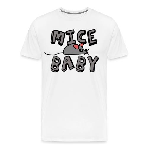 mice mice baby - ice ice baby - Männer Premium T-Shirt