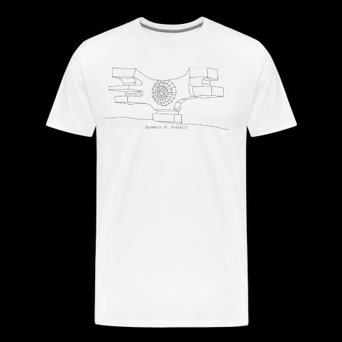 Serie 02   Spomenik Podgaric - Camiseta premium hombre