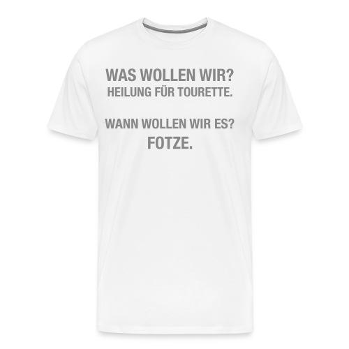 Tourette - Männer Premium T-Shirt