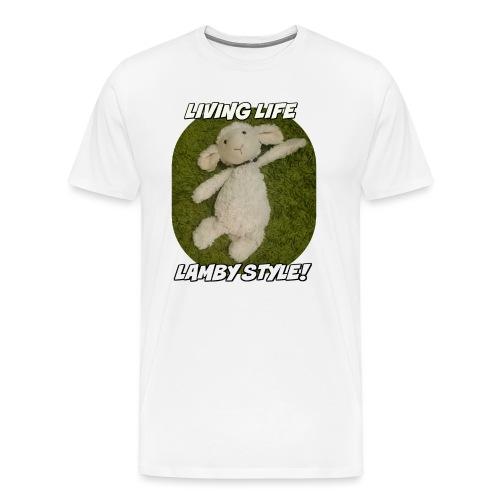 Lamby Mug - Men's Premium T-Shirt