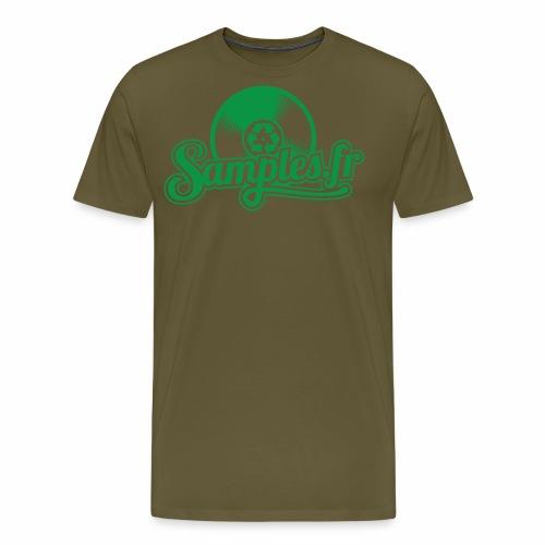 Samples.fr Vert - T-shirt Premium Homme