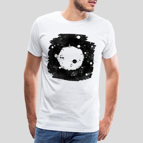 Mond und Sterne - Männer Premium T-Shirt