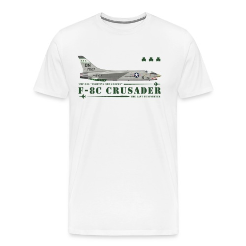F-8C Crusader VMF-333 - Men's Premium T-Shirt