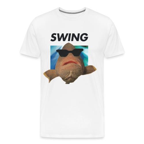 SWING fisken - Herre premium T-shirt
