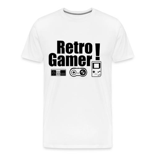 Retro Gamer! - Men's Premium T-Shirt