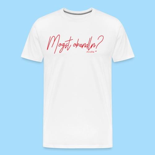 Mogst Obandln Rot - Männer Premium T-Shirt