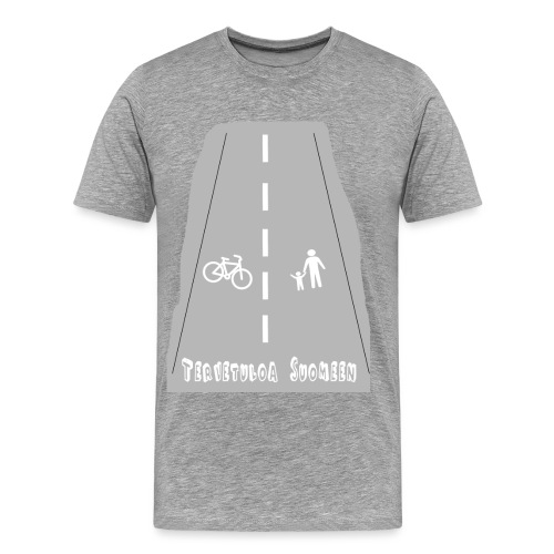 Tervetuloa Suomeen - Miesten premium t-paita