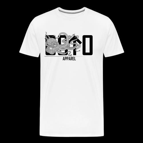 OctoApparel Logo schwarz - Männer Premium T-Shirt