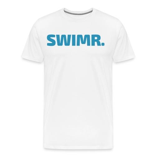 swimr-logo - Mannen Premium T-shirt