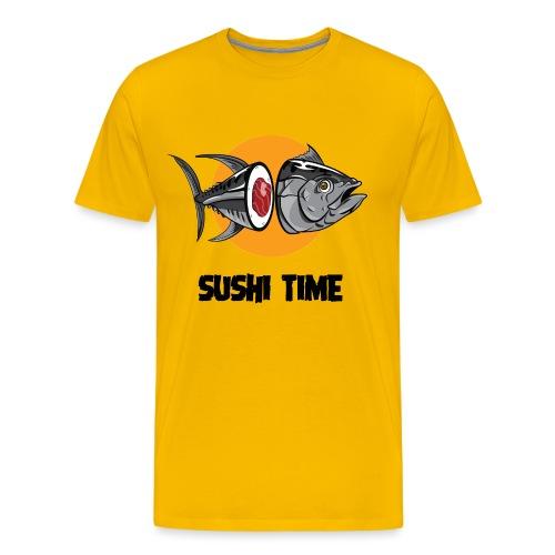 SUSHI TIME-tonno-n - Maglietta Premium da uomo