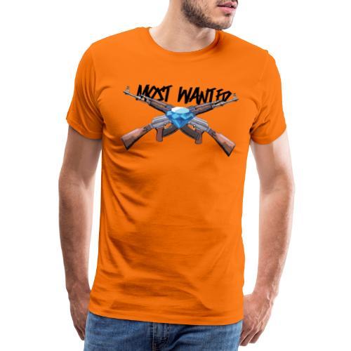 v2 - Herre premium T-shirt