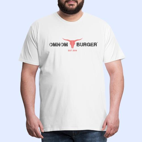 Omnom Burger Classic - Männer Premium T-Shirt