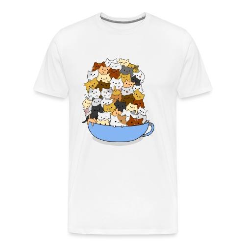 Tazón de Gatitos - Camiseta premium hombre