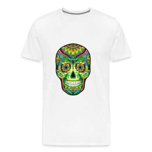 El día de los Muertos Cranes motif - T-shirt Premium Homme