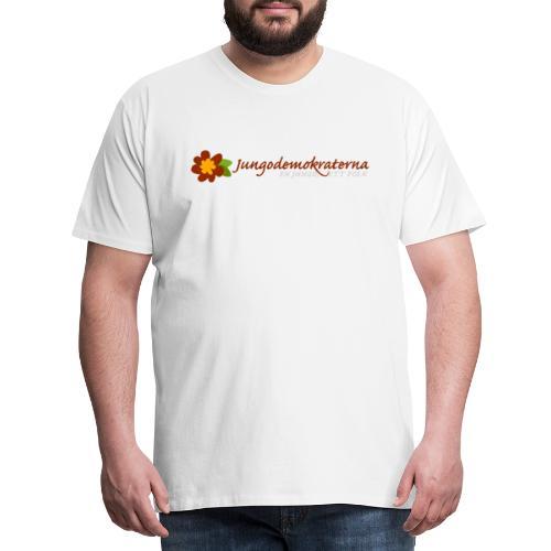 JD logo - Premium-T-shirt herr