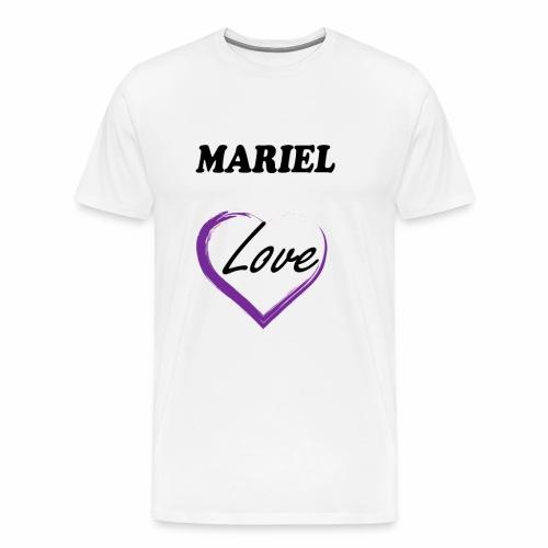 Mariel Love - Camiseta premium hombre